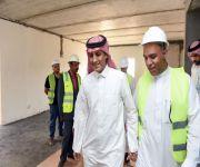 تم تشييد أول وحداته خلال ١٤ يوم بفريق عمل سعودي ١٠٠٪: *وفد الإسكان يتفقد مشروع فلل البيرق في المبرز