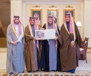 الأمير فيصل بن مشعل يستقبل فريق عمل  مهرجان الكليجا العاشر ويتسلم التقرير الختامي له