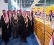"""أمير القصيم يدشن أعمال المعرض السعودي """"رحلات3"""