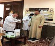 صحة حفرالباطن تقيم حملة للكشف عن داء السكري في الجوامع