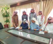 مدير فرع وزارة العمل والتنمية الاجتماعية يرعى توقيع اتفاقية تعاون برنامج التدريب المنتهي بالتوظيف لذوي الاحتياجات الخاصة بالبكيرية