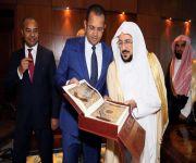 توقيع مذكرة تفاهم في مجال التعاون المشترك بين الجانبين د. عبداللطيف آل الشيخ استقبل وزير الشؤون الإسلامية والتعليم الموريتاني