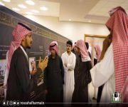 وفد طلابي من مدارس القصيم يزور معرض عمارة الحرمين في القصيم