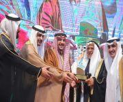 """""""فيصل بن مشعل"""" يكرم الفائزين بجائزة الخضير للتميز بتعليم القصيم"""