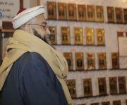 رئيس مجلس علماء باكستان يزور جناح القصيم في الجنادرية 33*