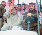 """أمير القصيم يزور مهرجان """"ربيع بريدة"""" ويشيد بتنوع فعالياته  *"""