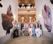 تراث القصيم في الجنادرية يقيم الليلة السعودية ويتوشح باللون الأخضر بحضور وكيل إمارة منطقة القصيم ورؤساء وفود مناطق المملكة