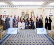 الأمير فيصل بن مشعل يكرم الفائزين بجائزة الإبداع الإعلامي لمهرجان التمور 39