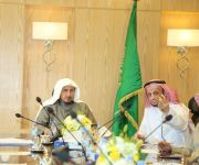إجتماع تنسيقي بين فرع وزارة الشؤون الإسلامية وفرع وزارة البيئة والمياه والزراعة بمنطقة القصيم