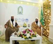جناح فرع وزارة الشؤون الإسلامية بالقصيم في معرض القصيم للكتاب يستقبل زواره