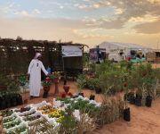 """""""2000 شتلة"""" سدر من مزرعة أبو أنس لدعم مبادرة أمير القصيم بتشجير المنطقة في مهرجان ربيع البكيرية40"""