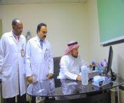 """زيارة تطوعية لأستشاري الطب الباطني والأمراض المعدية """"الحديثي"""" لمستشفى البكيرية العام"""