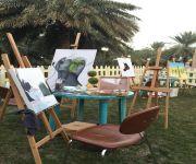 لقاء أعضاء فريق فنانات القصيم بمشاركة 15 فنانة ورسم حي في الهواء الطلق في حديقة مركز الأميرة نورة
