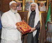 وزير الشؤون الإسلامية استقبل وزير الشؤون الدينية البنغلاديشي