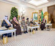 الأمير فيصل بن مشعل يستقبل رئيس وأعضاء نادي القصيم للرياضات الجوية