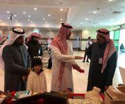 جمرك مطار الأمير نايف بن عبدالعزيز يقيم معرض في المستشفى المركزي