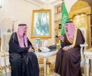 أمير القصيم يستقبل المهندس البسام بمناسبة تعيينه مستشاراً لوزير الشؤون البلدية