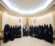 الأمير فيصل بن مشعل يستقبل مجلس فتيات القصيم ويتسلم التقرير السنوي