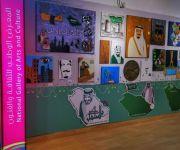 المساعد للشؤون التعليمية بنات بتعليم المذنب تزورالمعرض الوطني للثقافة والفنون(افانين٢)وتكرم رواد الإبداع