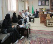 وفد من خبراء منظمة الصحة العالمية يزور محافظة رياض الخبراء