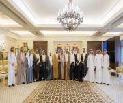 الأمير فيصل بن مشعل يستقبل رئيس وأعضاء*جامعة المستقبل بمناسبة تحويلها إلى جامعة