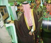 أمير منطقة القصيم يشرف معرض جوازات المنطقة المشارك في أسبوع البيئة