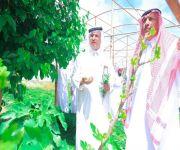"""بحضور رئيس مركز الشيحية والمهتمين بالنباتات تعليم البكيرية يفعّل أسبوع البيئة بمحمية """"البراك النباتية"""" بالشيحية"""