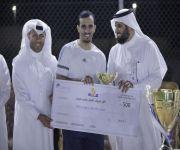 """شهدت مشاركة جهات حكومية وخاصة """"الصالحي"""" يرعى ختام دوري المؤسسات الثاني لكرة القدم بكليات الراجحي"""