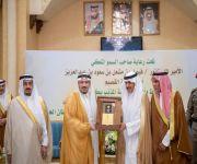 """الأمير فيصل بن مشعل يرعى حفل """"يوم الوفاء"""" لتكريم محافظ المذنب السابق سليمان التويجري"""