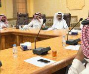 محافظ رياض الخبراء يترأس اجتماع المجلس المحلي
