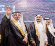 أمير منطقة القصيم يدشن هوية جامعة المستقبل ويزف 355 من خريجيها