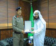 مدير عام فرع هيئة الأمر بالمعروف بالقصيم يستقبل قائد قوة أمن الطرق بالمنطقة