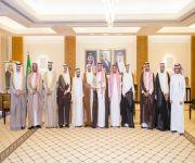 نائب أمير القصيم يستقبل رئيس وأعضاء مجلس جامعة المستقبل الأهلية ببريدة