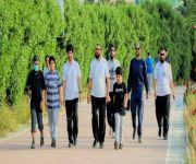 فريق مشاة بريدة ينظم فعالية المشي الجماعي
