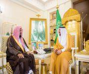 أمير القصيم يستقبل الشيخ وجب العتيبي بمناسبة تكليفه مديراً للشؤون الإسلامية بالمنطقة