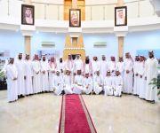 لجنة أهالي البكيرية تستضيف إعلاميي المحافظة ولجنة الشباب