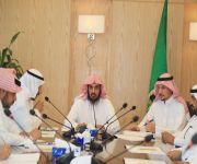 المدير العام للشؤون الإسلامية بالقصيم يجتمع بمدراء الإدارات بالمنطقة