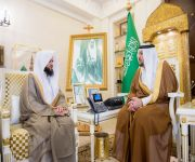 أمير القصيم يستقبل الجمعة بمناسبة تكليفه رئيساً لكتابة العدل ببريدة
