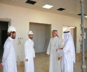 مدير جامعة القصيم يتفقد سير الأعمال بمشروع مبنى العمادات المساندة