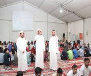 مدير عام فرع الإسلامية بالقصيم الشيخ العتيبي يزور مخيم تفطير الصائمين في شمال بريدة