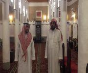 مدير عام فرع الإسلامية بالقصيم يزور مبنى إدارة المساجد والدعوة والإرشاد بعنيزة و مصليات الأعياد