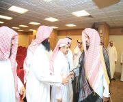 بحضور فضيلة الشيخ العتيبي : فرع الإسلامية بالقصيم يقيم حفل معايدة