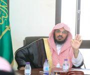 الشيخ العتيبي يتفقد إدارة مساجد بريدة وإدارة الصيانة ويلتقي بالموظفين