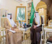 الأمير فيصل بن مشعل يستقبل مدير عام فرع وزارة الإسكان بالقصيم المكلف
