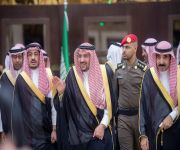 أمير القصيم يزور محافظة الرس ويدشن مشاريع تنموية بقيمة 253 مليون و800 ألف ريال