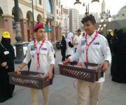 كشافة صعوبات التعلم  بالمدينة المنورة ومبادرة خير أمة