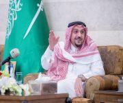 أمير القصيم يستقبل لجنة أهالي منطقة القصيم في قصره بحي الصفراء