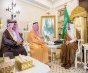الأمير فيصل بن مشعل يستقبل رئيس الغرفة التجارية بالقصيم والأمين العام الجديد