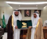 هيئة الأمر بالمعروف بالقصيم تشكر محافظ محافظة رياض الخبراء