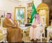 أمير القصيم يستقبل عبدالعزيز التويجري لتكليفه مديراً لميدان الملك سعود للفروسية